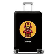 鋼鐵人行李箱保護套