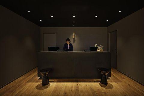 京都河原町三條Resol飯店櫃台