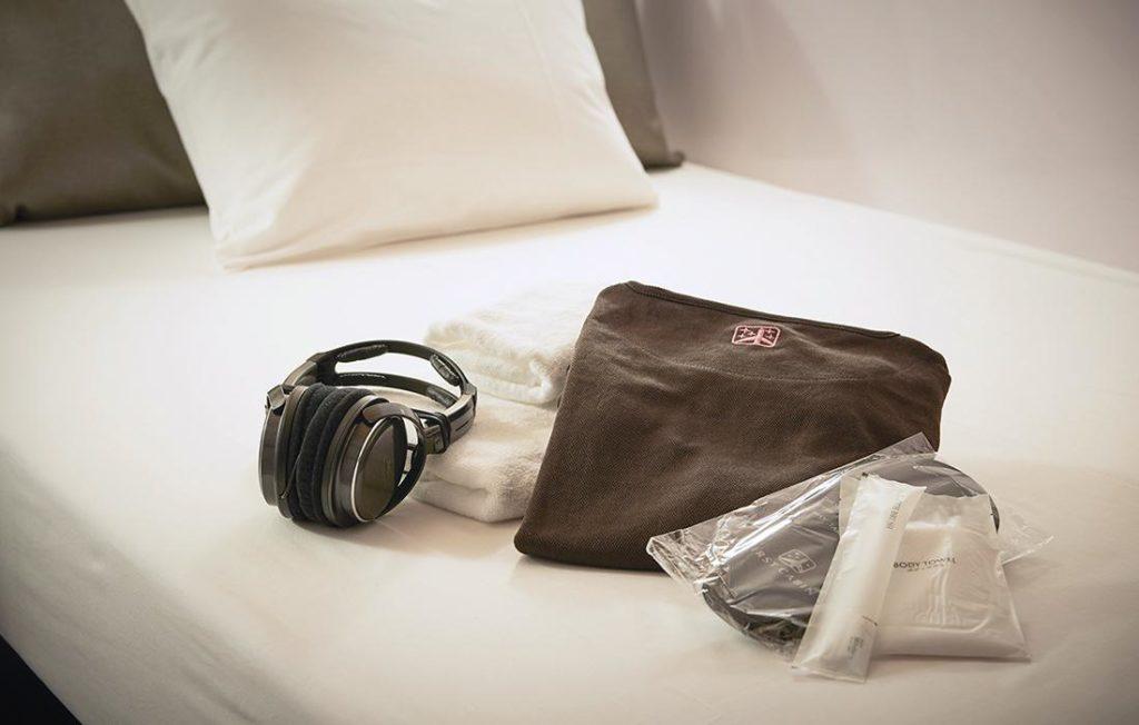 頭等艙旅館京都經盥洗用具