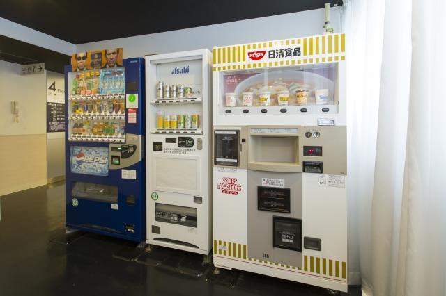 頭等艙旅館京督自動販賣機