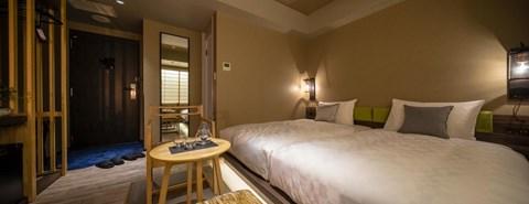 京都河原町三條Resol飯店雙床房