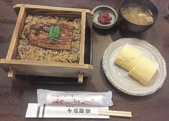 山椒鰻魚飯
