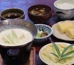 十二段家生ゆば豆乳鍋定食