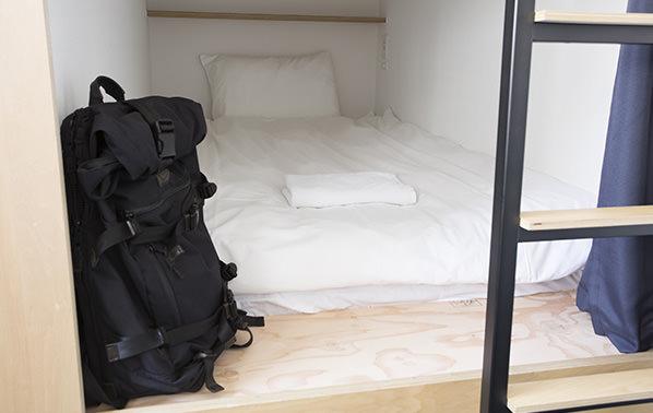 Piece Hostel 床尾