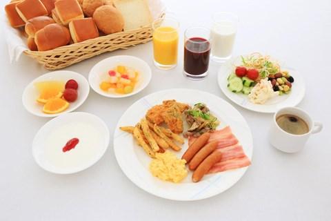 京都微笑酒店早餐