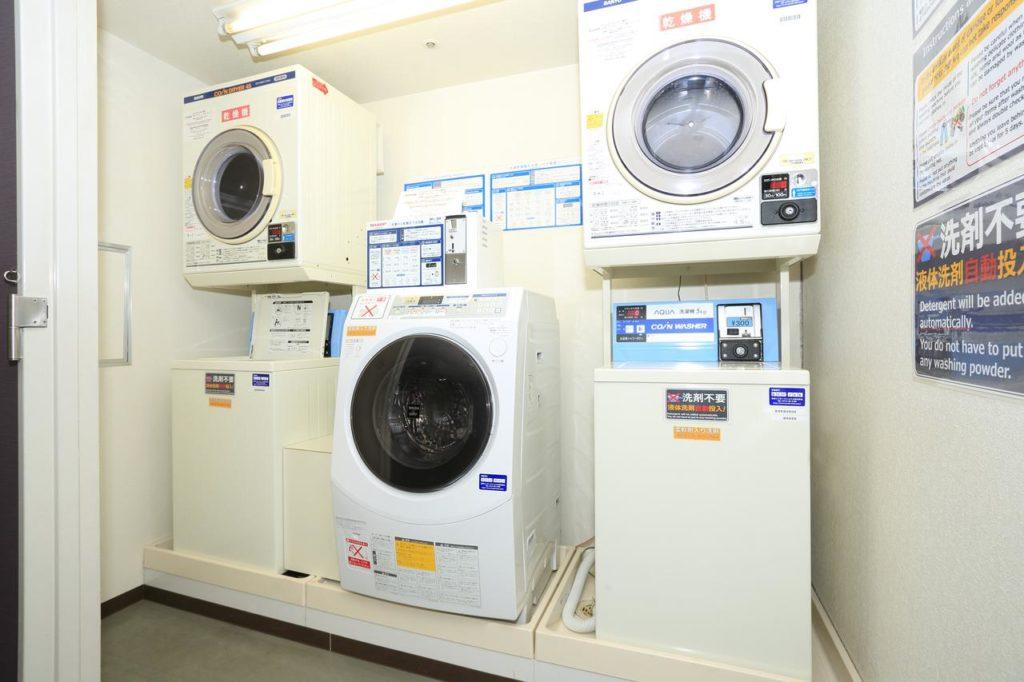 京都微笑酒店洗衣房