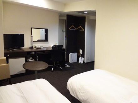 京都微笑酒店雙床