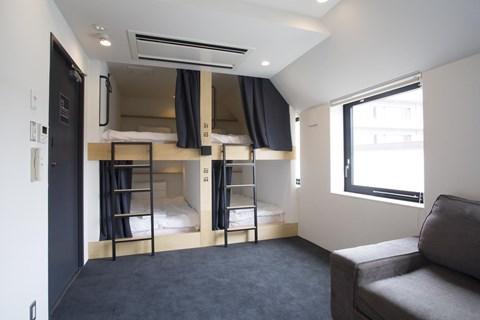 Piece Hostel 4人房