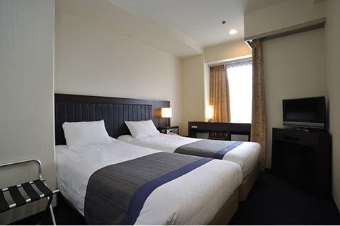 京都新阪急酒店中型雙床房