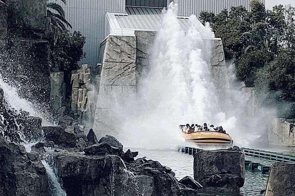 大阪環球影城侏儸紀公園乘車遊