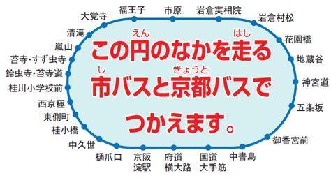 京都巴士一日券均一區間