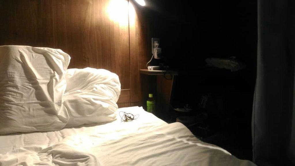 莫里斯旅舍房間內部