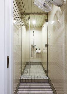 京都莫里斯旅舍淋浴間