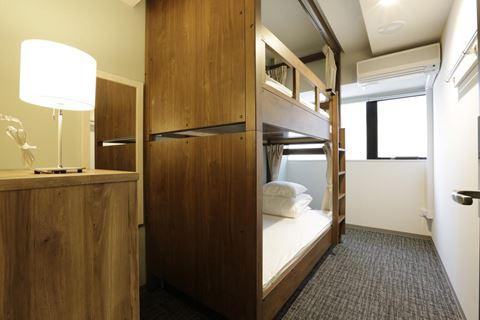 京都莫里斯旅舍雙床房