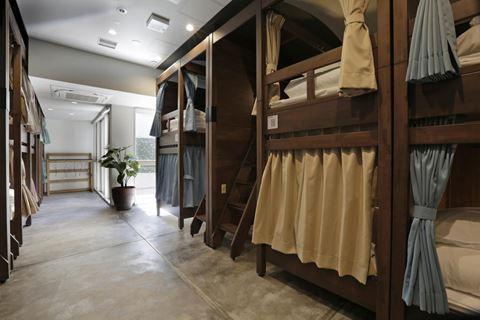 京都莫里斯旅館18人房