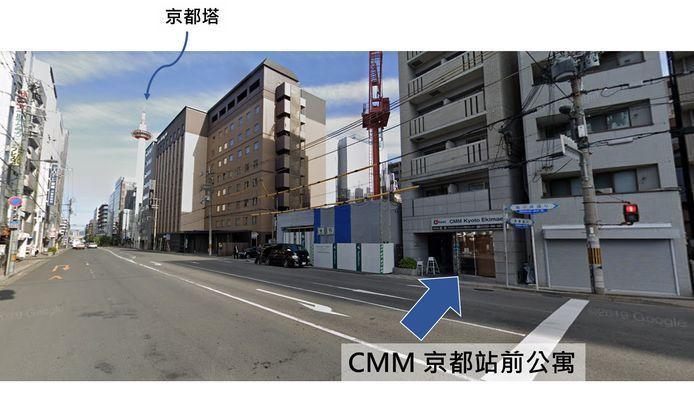 CMM京都站前旅館位置