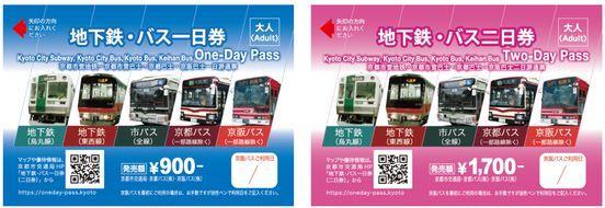 京都巴士一日與二日券成人