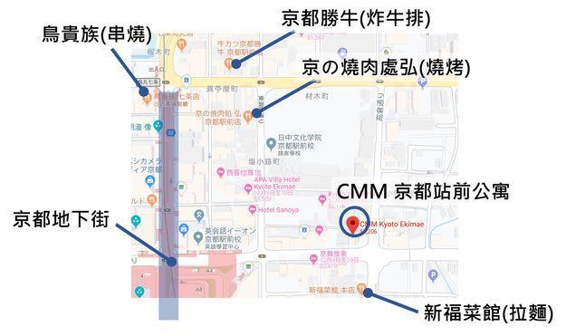CMM京都站前旅館生活機能