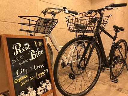 CMM京都站前旅館腳踏車