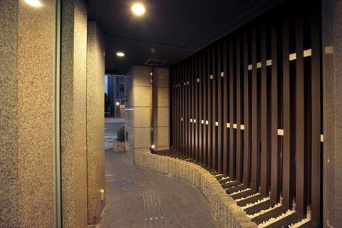 CMM京都站前旅館走廊