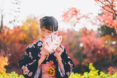 櫻花和服旅拍