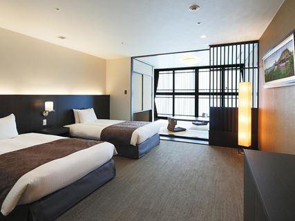 京都塔飯店和洋客房
