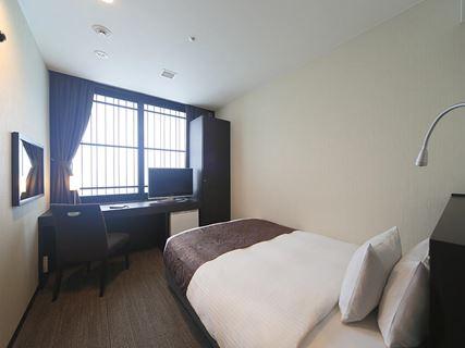 京都塔飯店單人房