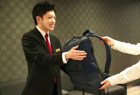 京都塔酒店寄放行李服務