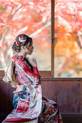 櫻花和服振袖