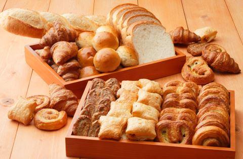 京都塔飯店早餐麵包