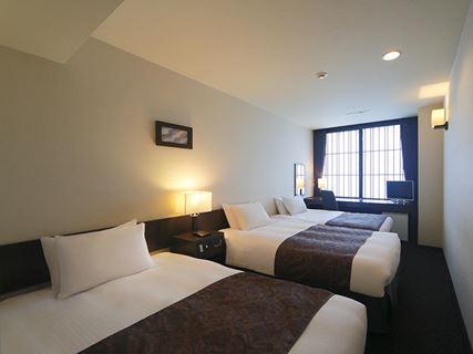 京都塔飯店標準雙床房