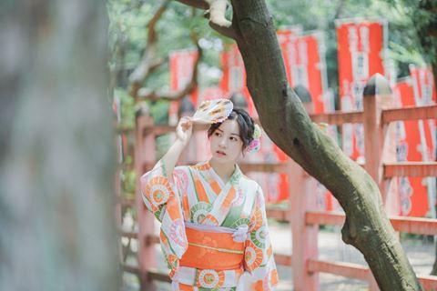 櫻花和服浴衣