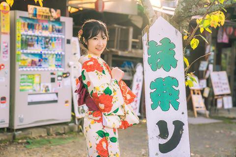 櫻花和服精緻和服