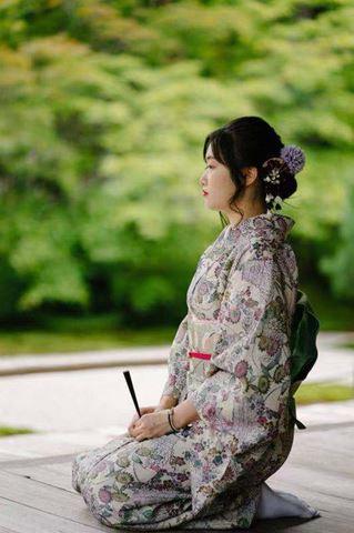 櫻花和服素雅和服