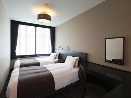 京都塔飯店經濟雙床房