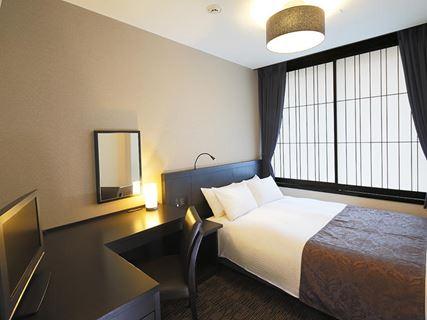 京都塔飯店雙人房