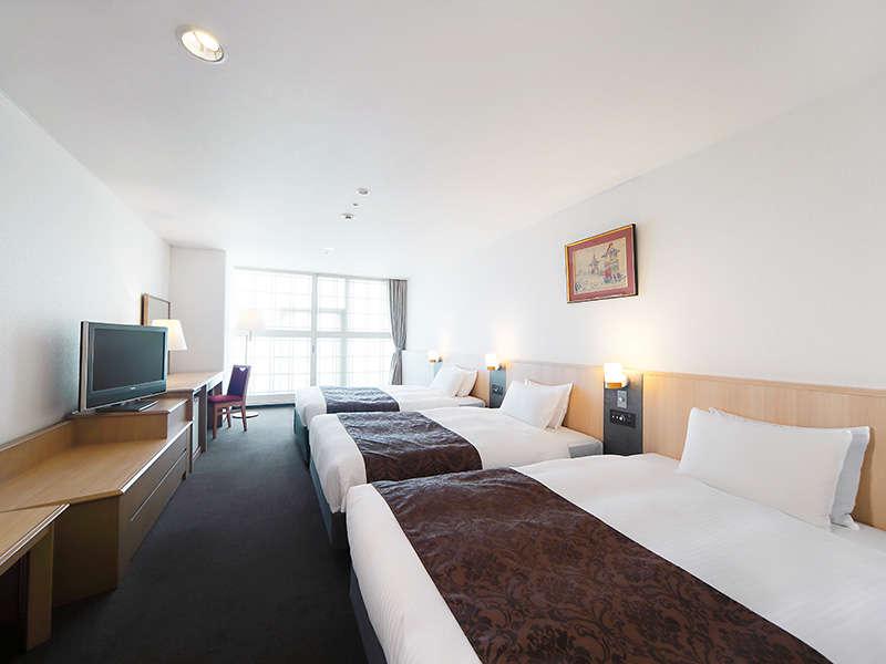 京都塔飯店高級雙床房