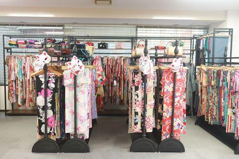 櫻花和服款式
