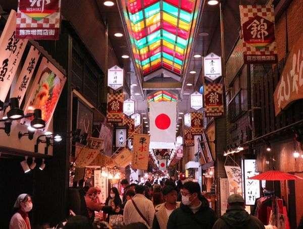 京都行程規劃錦市場