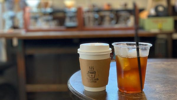 traveling coffee