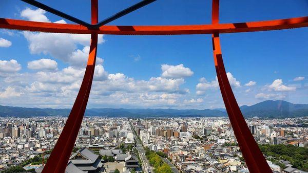 京都塔展望台