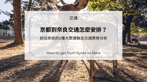 京都到奈良交通怎麼安排?|前往奈良的2種大眾運輸及交通票券分析