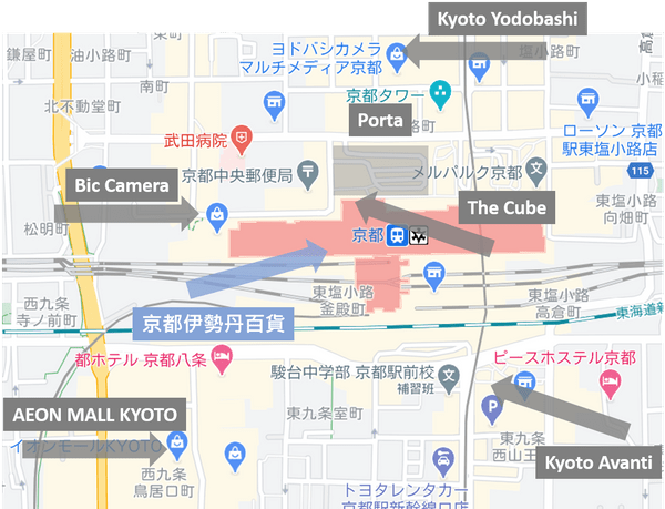 京都伊勢丹百貨