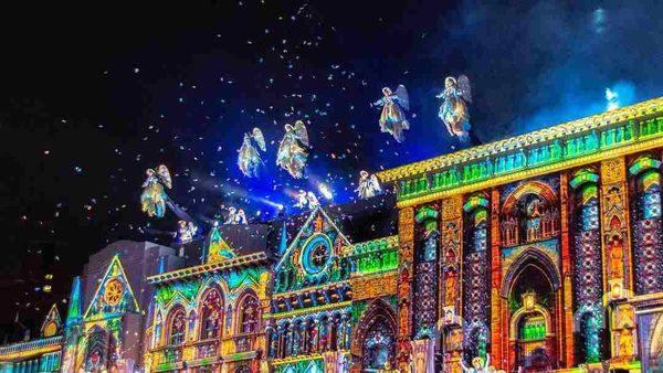 環球影城聖誕表演