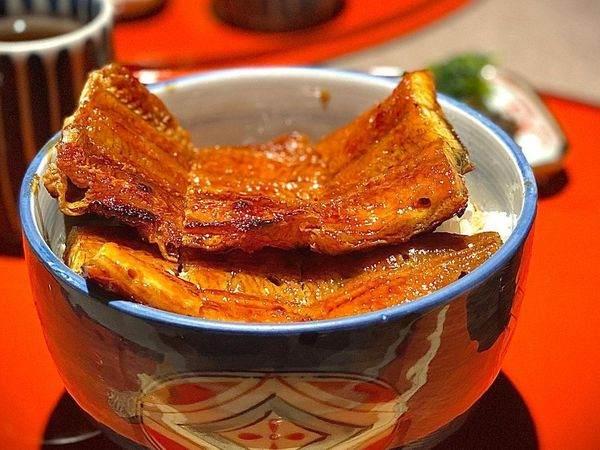 味彩のと与鰻魚飯