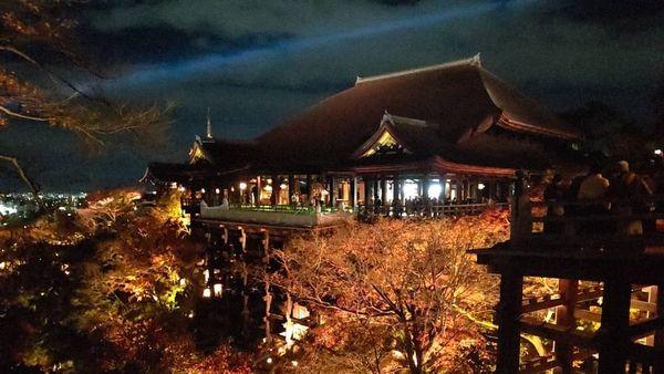 清水寺夜間觀拜