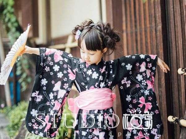 京都櫻京和服小孩
