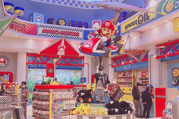 瑪利歐賽車店