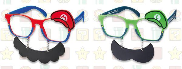 任天堂世界馬力歐商品眼鏡