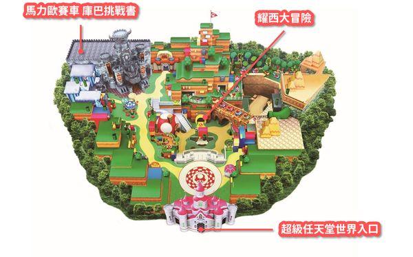 任天堂世界設施地圖